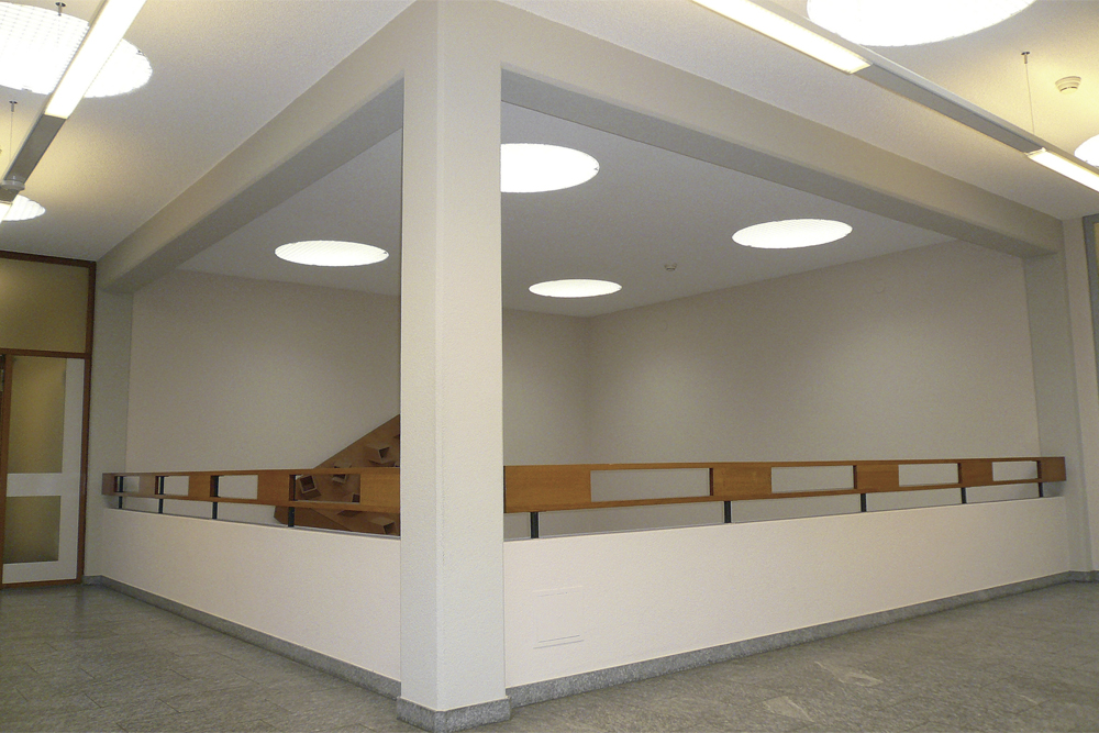 Innenarchitektur Uster galerie bruno giacometti gesamtkunstwerk stadthaus uster dtp